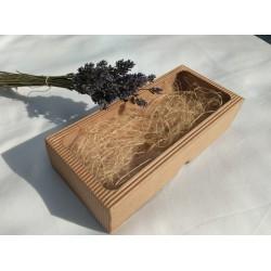 Dárková krabička - na tři mýdla