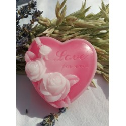 Srdce s růžemi - vůně růží